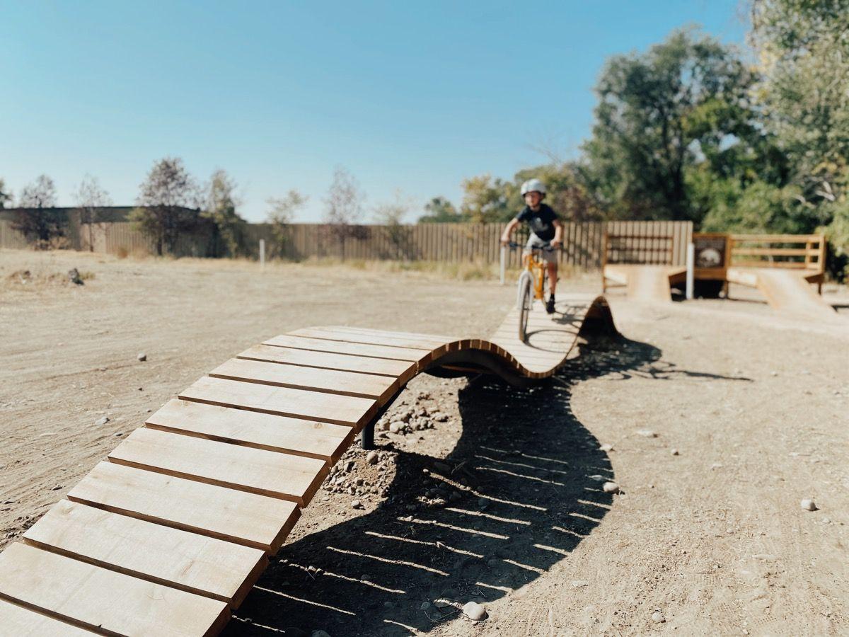 Trackline Bike Park Ogden S Newest Bike Park The Salt Project Bike Parking Park City Bike
