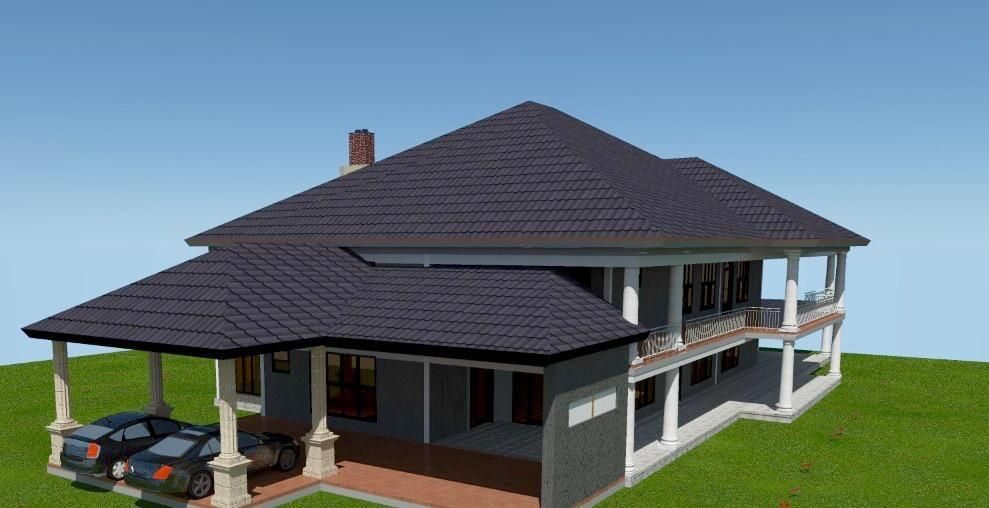 4 Bedroom Mansion House Plan In Kenya Muthurwa Com House Plans Bungalow House Design Bedroom House Plans