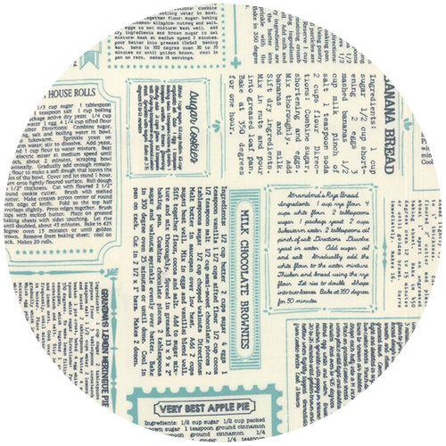 Sweetwater Feed Company Cookbook Vanilla Navy Company Meals Stash Fabrics Fabric