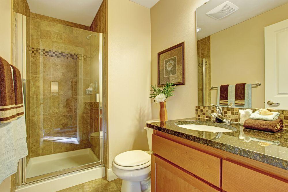 New Tile Backsplash in Shower