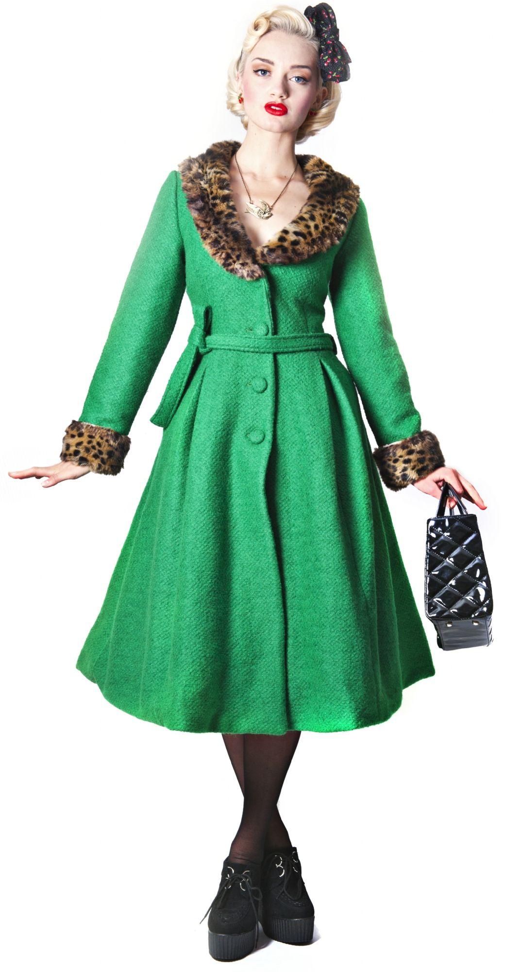 Ashley Coat Old Fashion Style