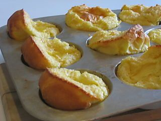 Mini German Pancakes. 6 eggs, 1 C milk, 1 C flour, 1/4 tsp. salt Bake at 425 for 18-25 minutes, makes 12-16 pancakes