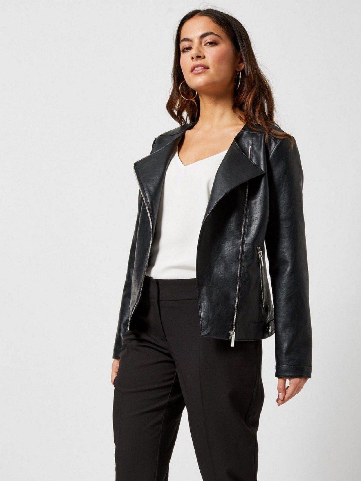 Women S Petite Black Leather Jacket Women Jacket Mauvetree Leather Jackets Women Womens Black Leather Jacket Leather Jacket [ 1600 x 1200 Pixel ]