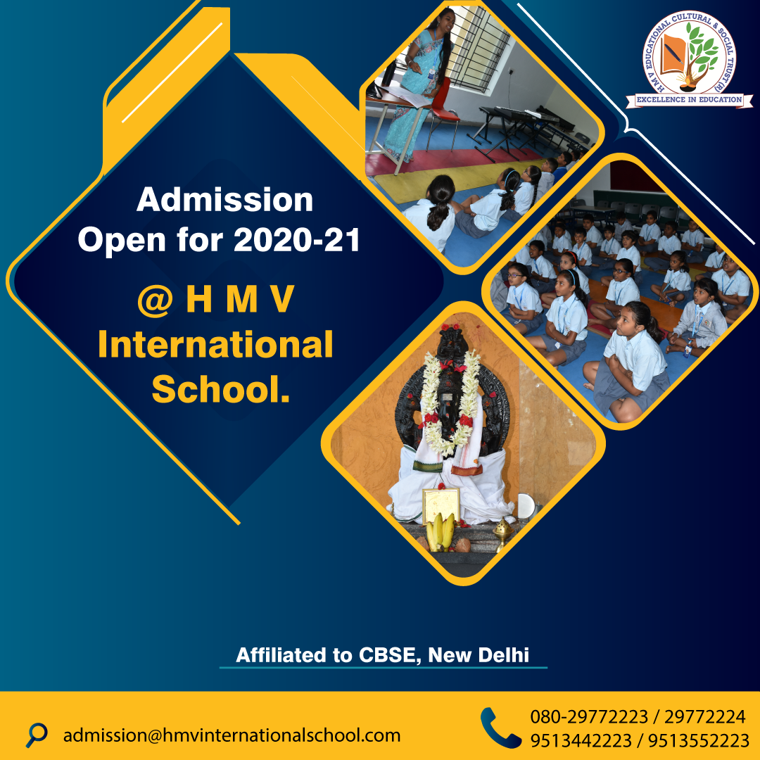 Admission Open For 2020 21 International School School Student Council