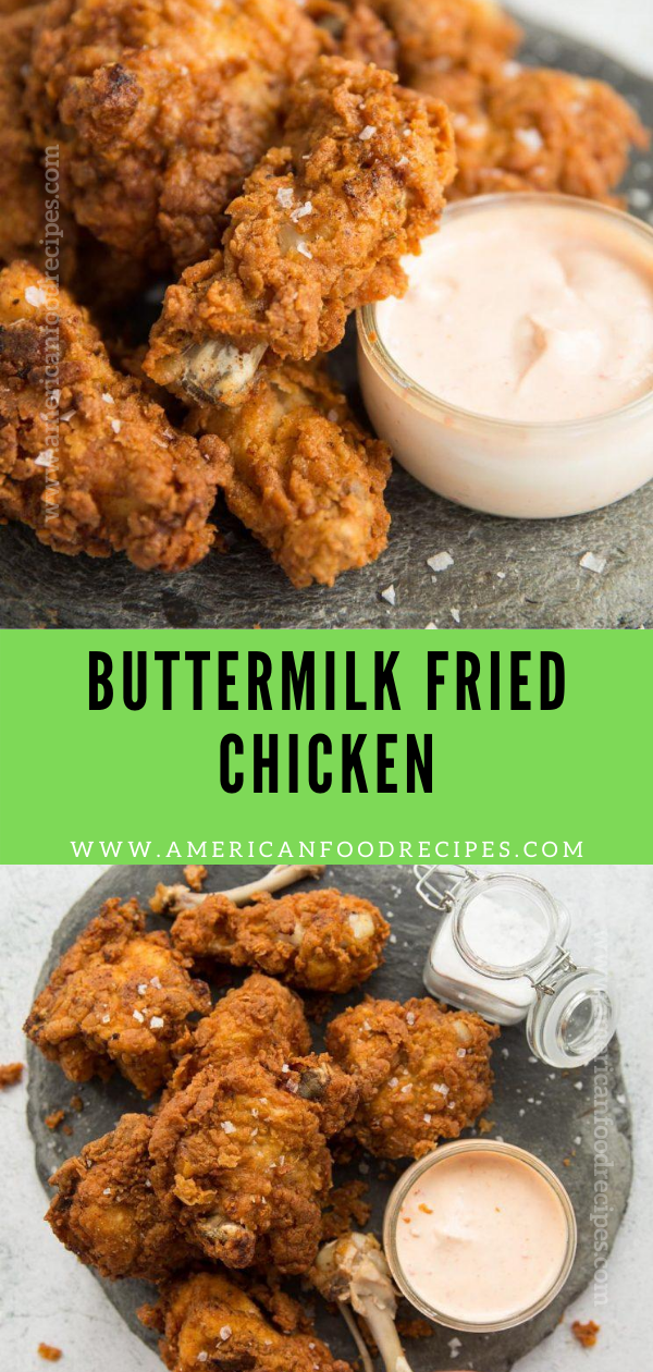 Buttermilk Fried Chicken In 2020 Buttermilk Fried Chicken Favorite Recipes Recipes