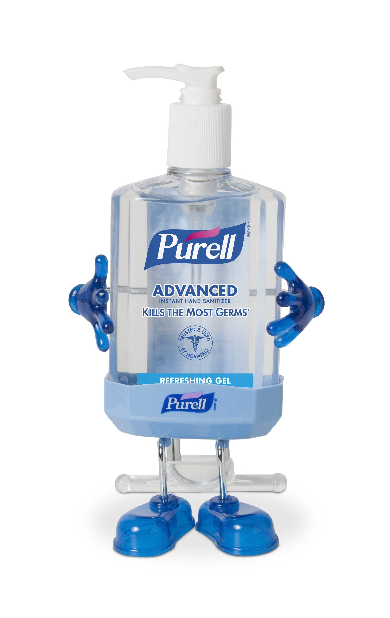 Purell Pal Desk Holder Purell 8 Oz Instant Hand Sanitizer Pump