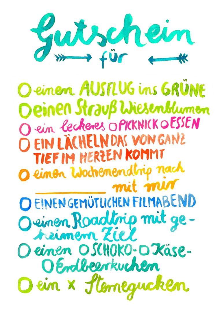 Postkarte Gutschein Von Frau Ottilie Frauottilie Gutschein