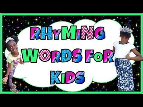 Kindergarten Rhyming Word Song Learn To Rhyme 18 Words With This Fun Song Youtube Rhyming Words Phonics Words Phonics Videos