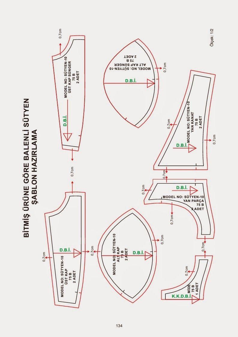 Pin de Abigail De Gomez en patrones | Pinterest | Ropa interior ...
