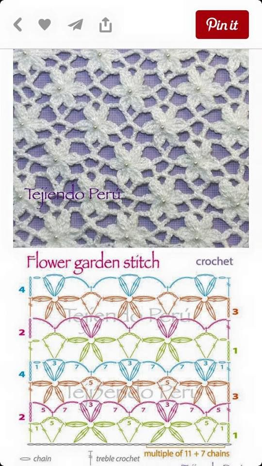 Crochet Chain Stitch Diagram : 12079330_1184311241582668_5622521618390369883_n.jpg (540 ...