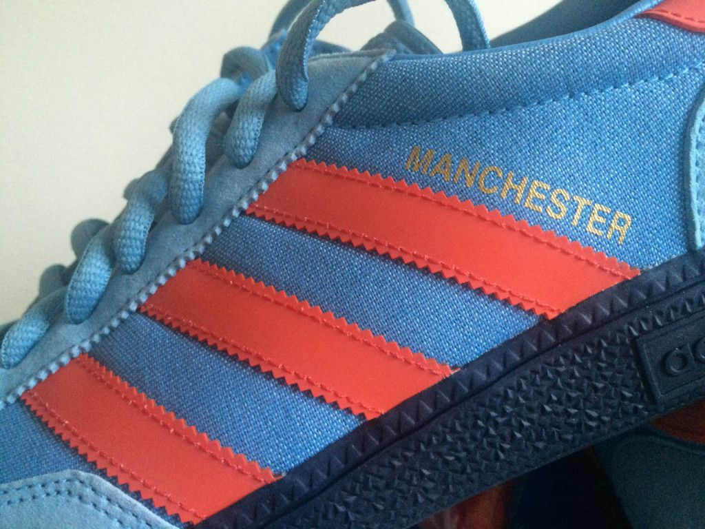 The beautiful and rare Adidas Manchester don't come up for sale all that  often. But when they do they command high prices. A lot of people want  these to own ...