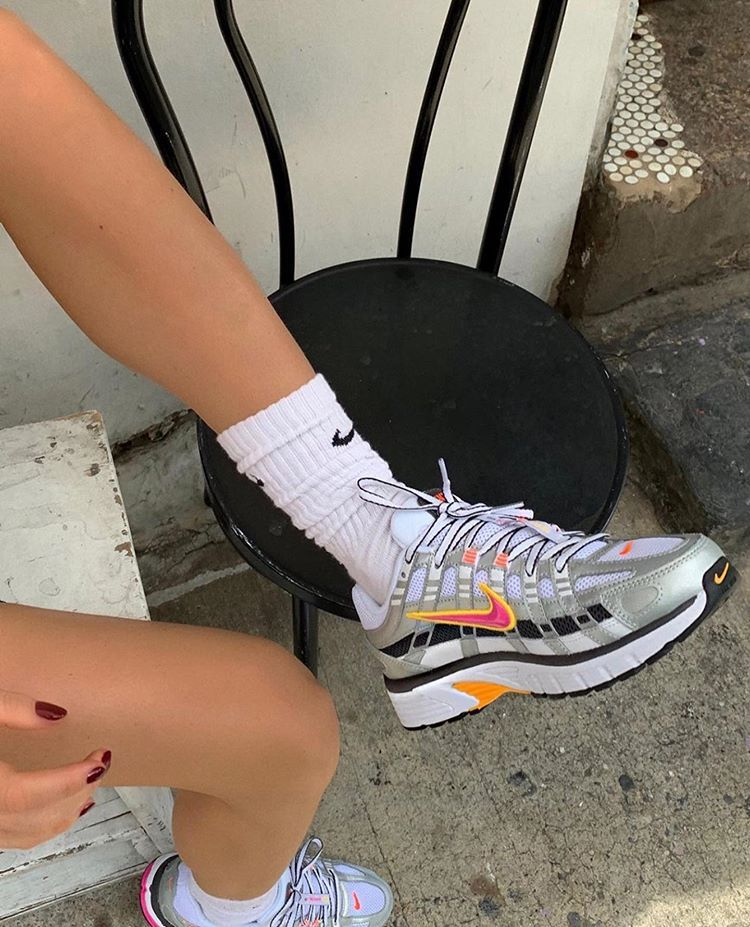 guirnalda Turista Quinto  Nike P 6000 🥛 #greyskrt   Sneakers, Fashion, Cute shoes