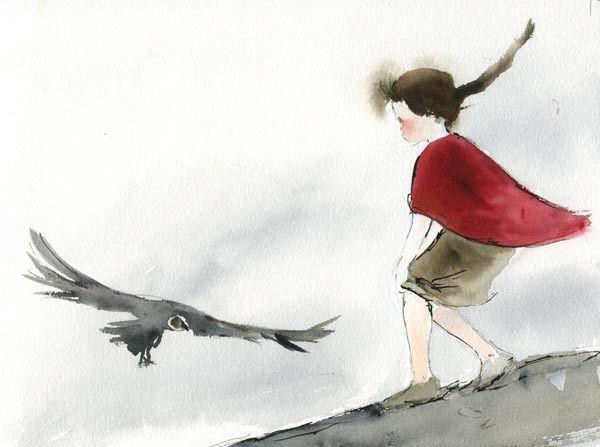Tres Niños Y Un Cóndor Book Illustration Illustration Painting