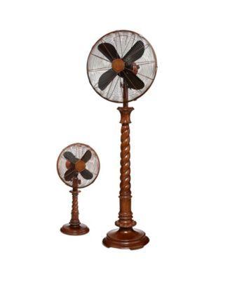 Decobreeze Stainless Floor Fan Adjustable Height Silver Floor Fan Brushed Stainless Steel Fan