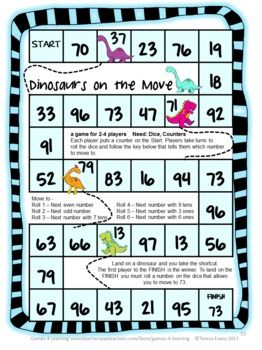 graphic about Printable Place Value Game named Vacation spot Cost Video games for 2 Digit Figures - Tens and Types