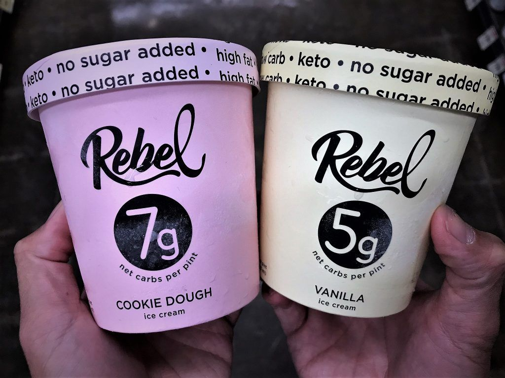 Keto Friendly Ice Cream Brands to Buy Online! #healthyicecream