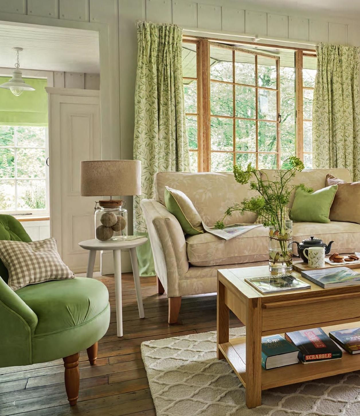 26 Relaxing Green Living Room Ideas: Pin On Home Inspiration