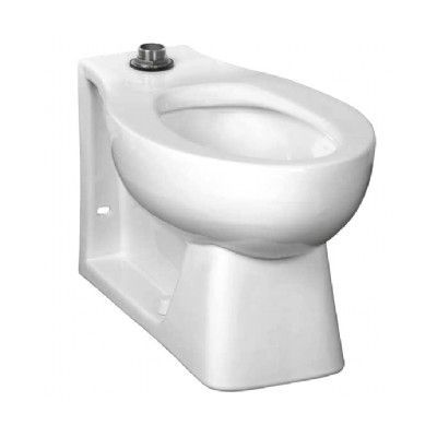 American Standard Extra Heavy Duty Anti-Microbial Elongated Toilet ...