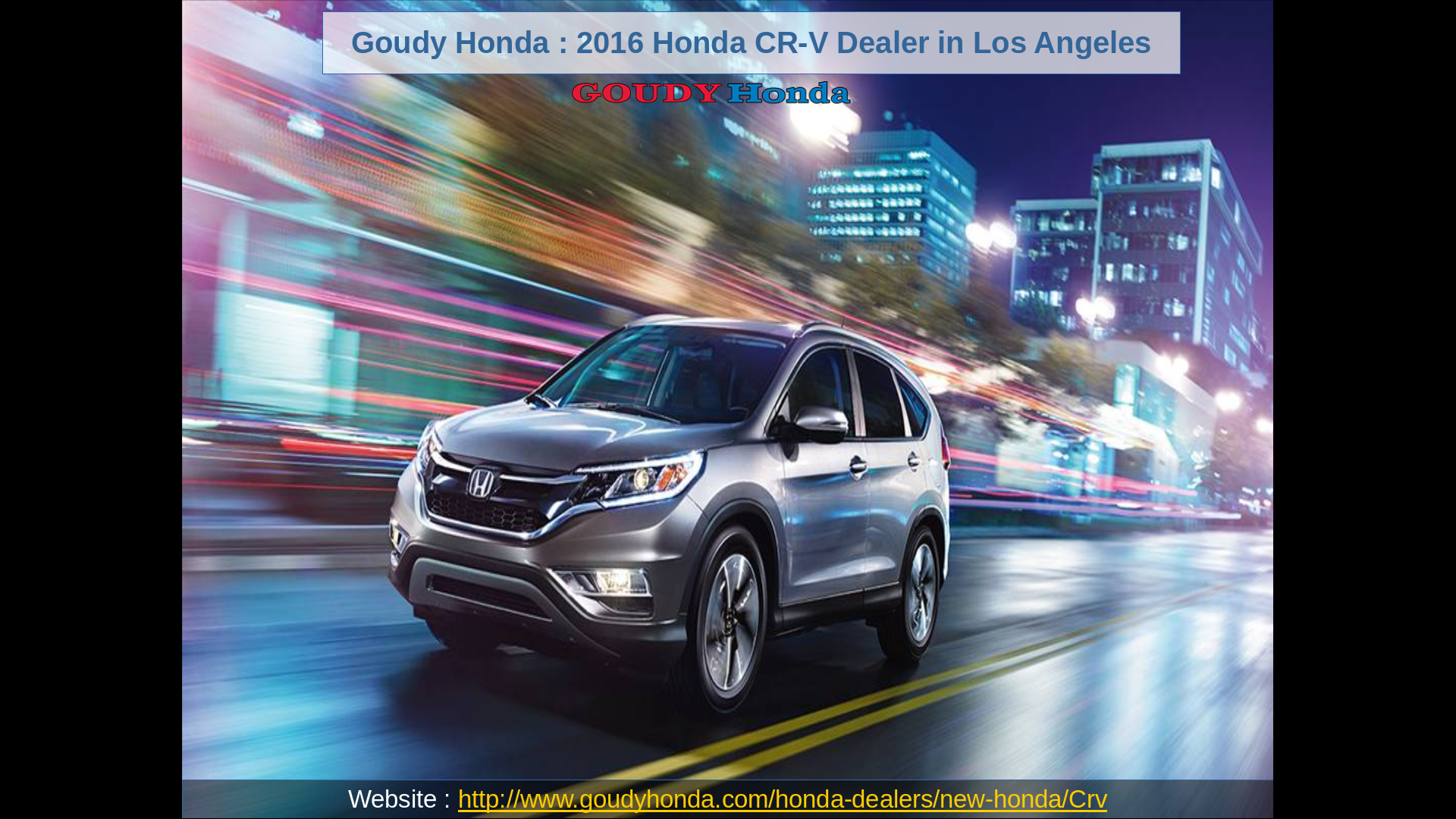 Goudy Honda Alhambra one of the largest volume Honda dealers in