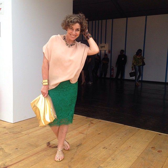 Consuelo Blocker Saia Com Blusa Soltinha Moda Ideias Fashion