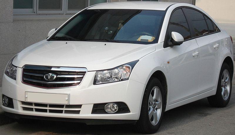 Daewoo Lacetti Premier White Model Daewoo Chevrolet Cruze Car