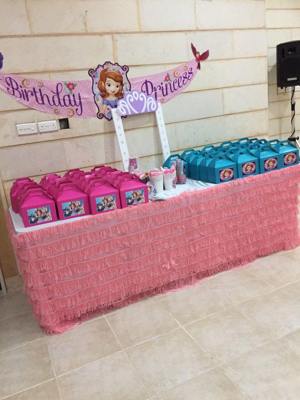 Sofia the first birthday party Kuwait Party partystudio Kuwait