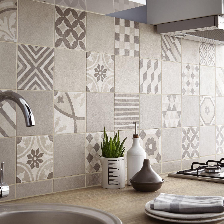Carrelage Adhesif Cuisine Leroy Merlin En Photo Credence Cuisine Carrelage Mural Cuisine Deco Carrelage