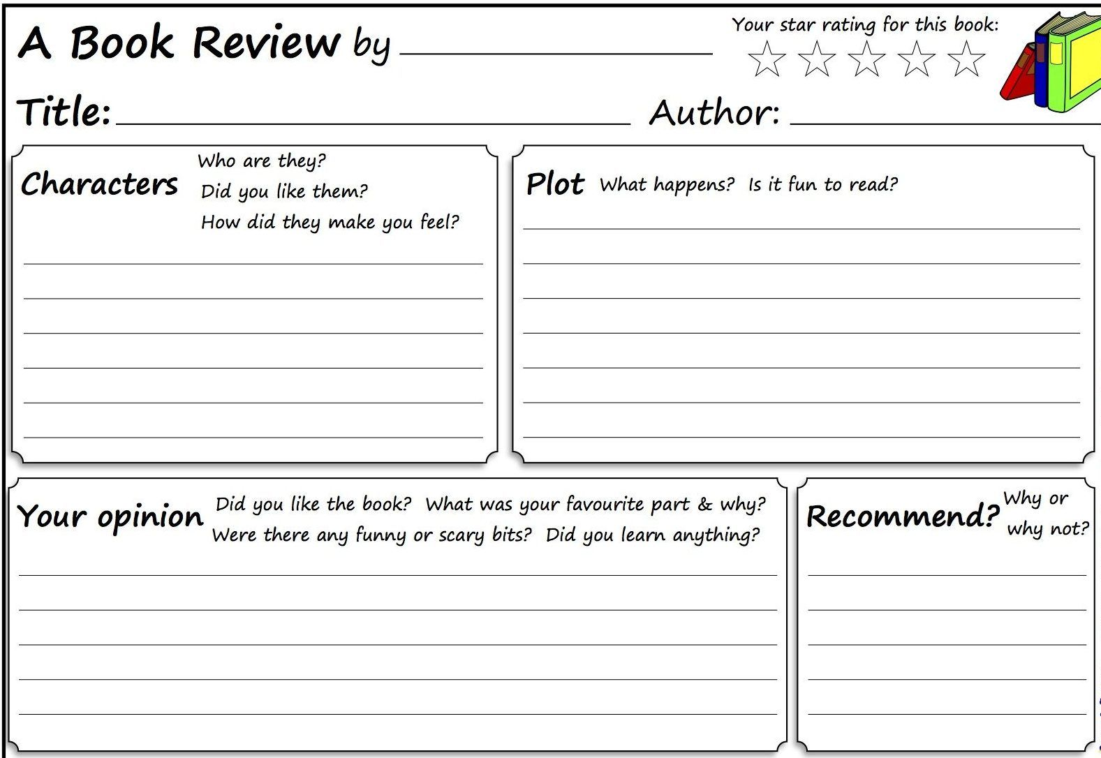 Example of a book review essay