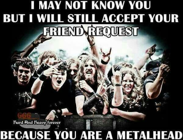 Metal just go gay