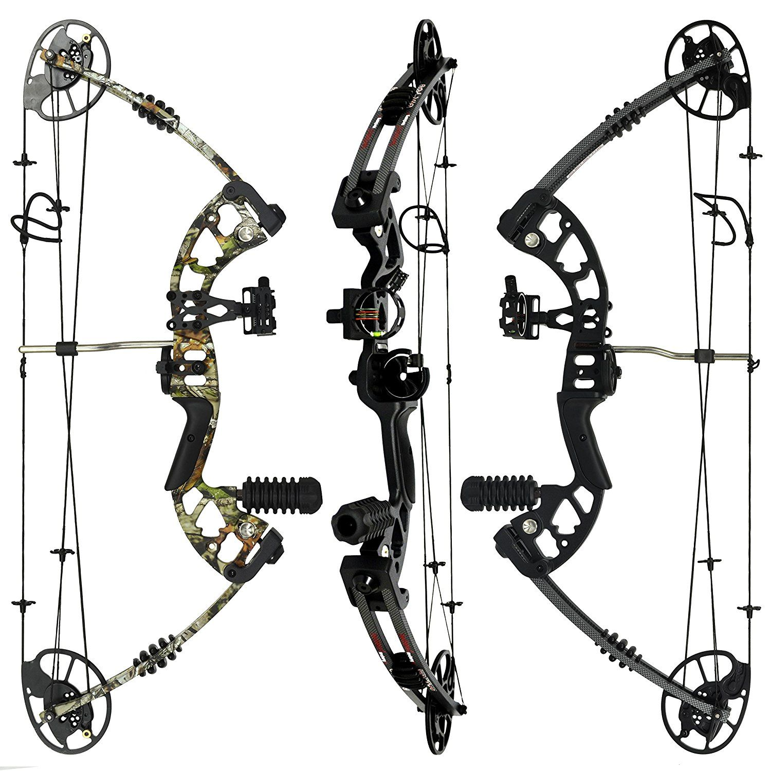 RAPTOR Compound Bow and Arrow Kit: Fully adjustable 24.5-31\
