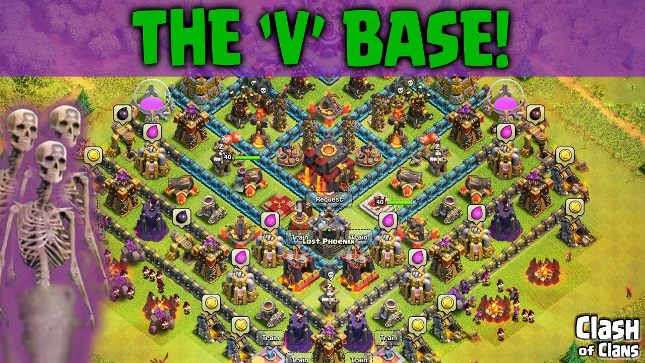 Clash Of Clans Bronze 2 Base