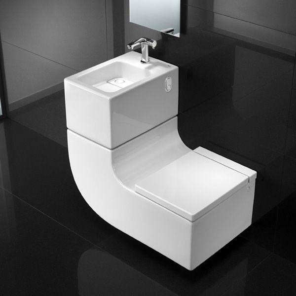 Cuvette Wc Suspendue Et Lave Mains 2 En 1 W W Wc Suspendu Petite Salle De Toilette Cuvette Wc Suspendu