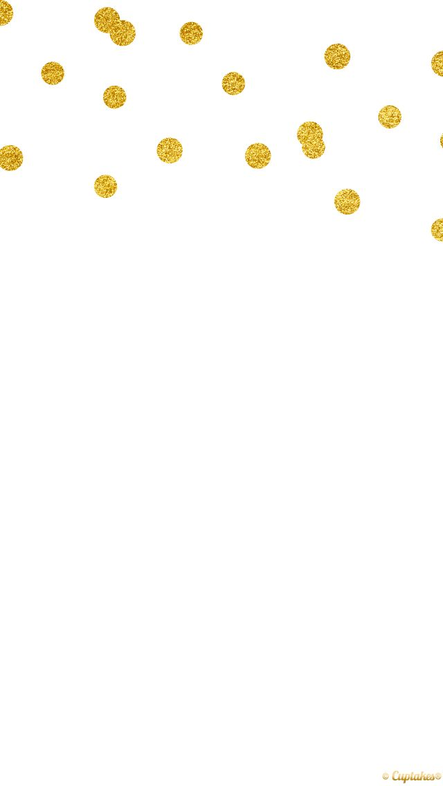 Minimal White Gold Confetti Spots Dots Iphone Phone Background Wallpaper Lock Screen Gold Wallpaper Iphone Wallpaper Iphone Neon Cuptakes Wallpapers Gold black white wallpaper confetti