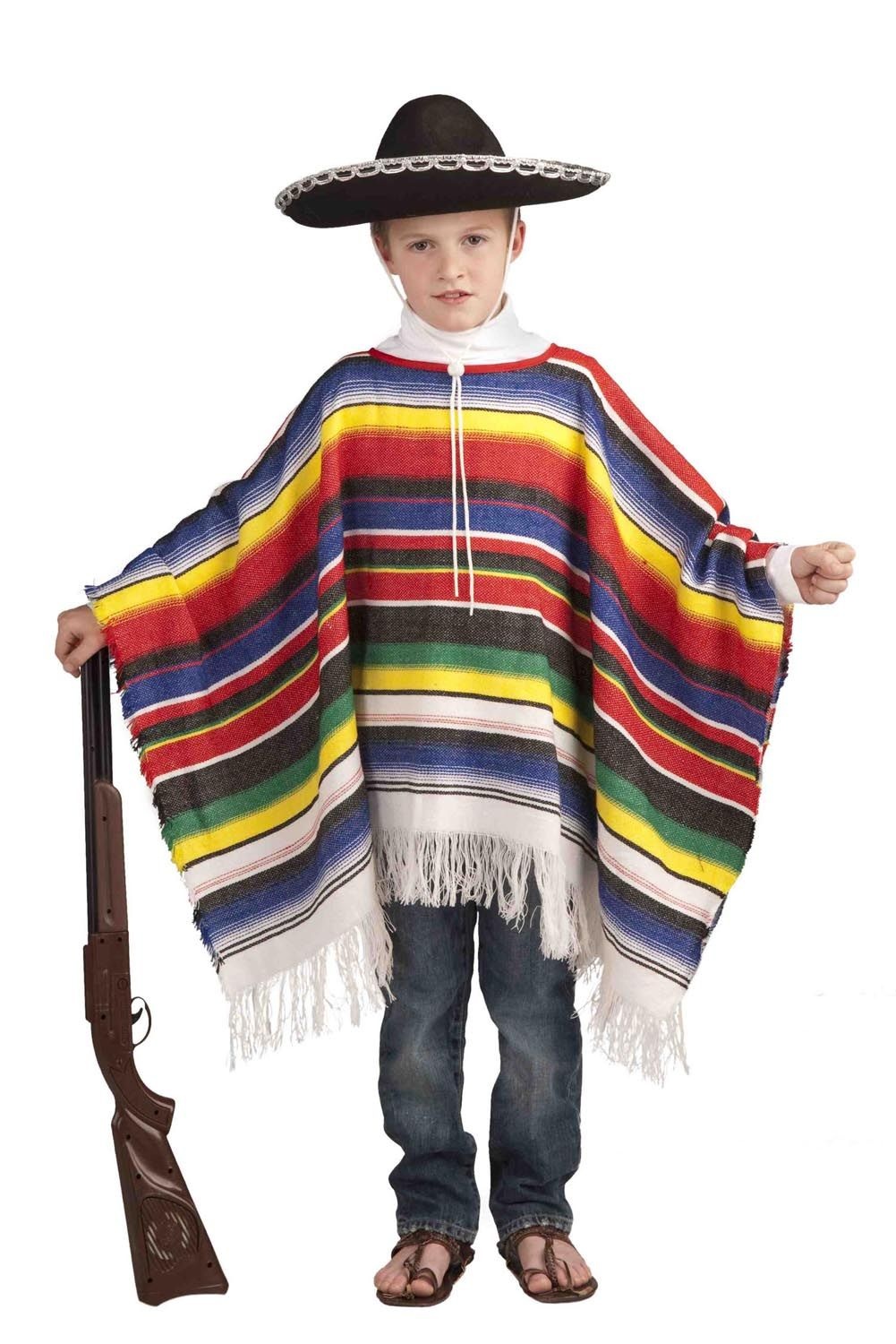 Mexican Poncho Child Costume | DIY Costumes | Pinterest | Children ...