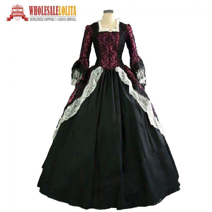 Colonial American Revolution Period Masquerade Vampire Victorian ...