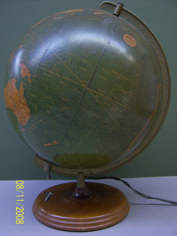 george f cram co globes
