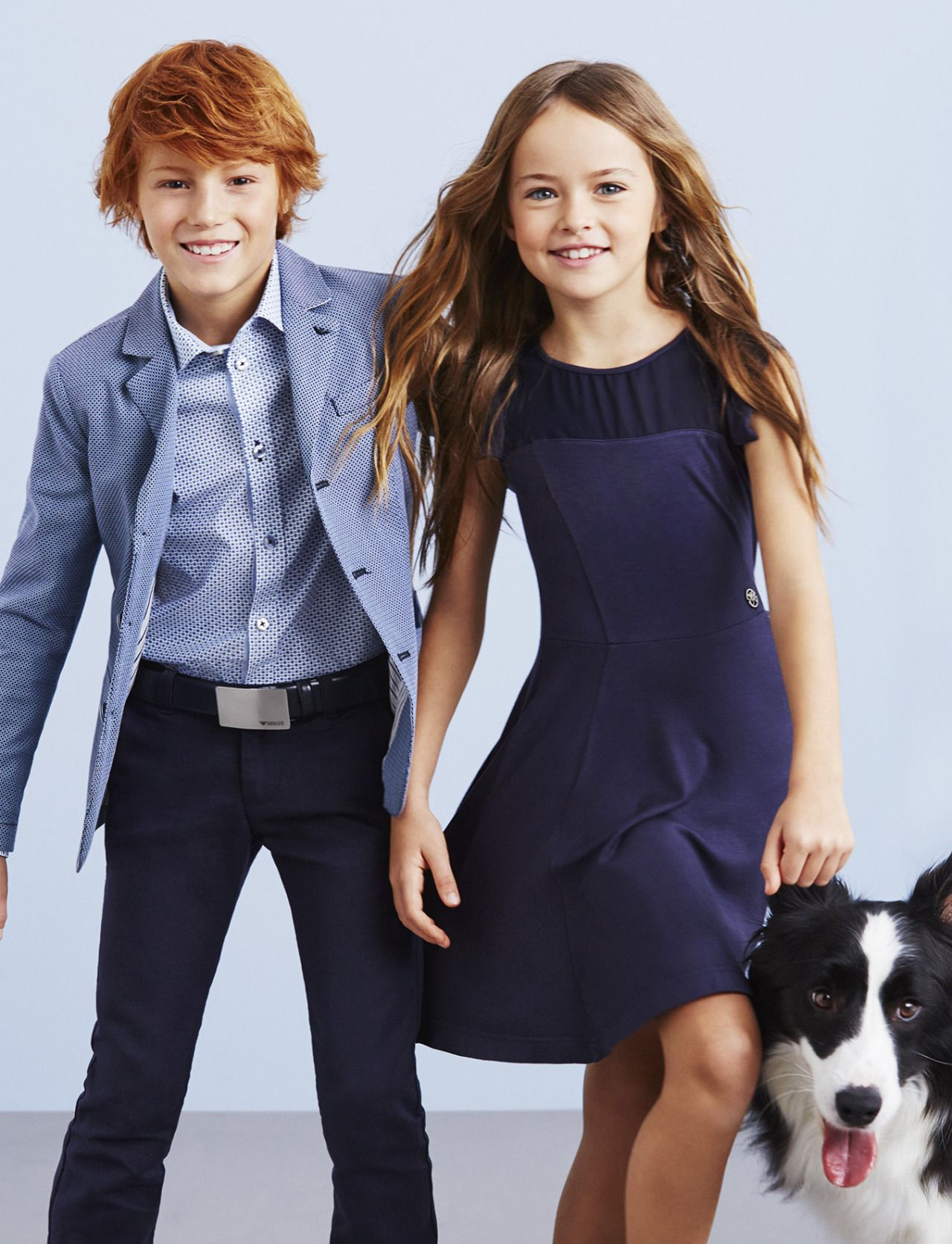 Armani Kinderkleding.Armani Junior Blue Selection From Spring 2015 Models Pinterest