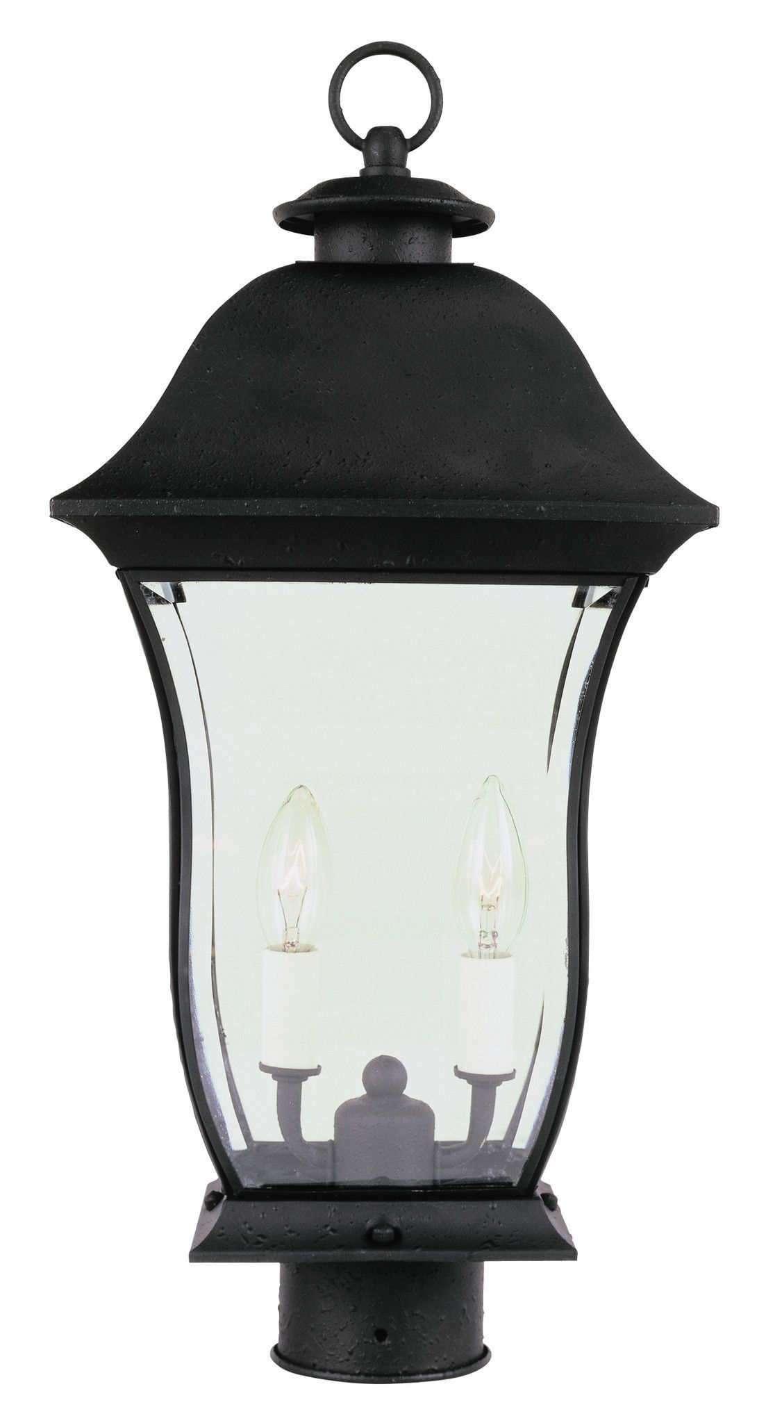 Trans Globe Lighting 4973 Bk Classic 20 Post Top Light