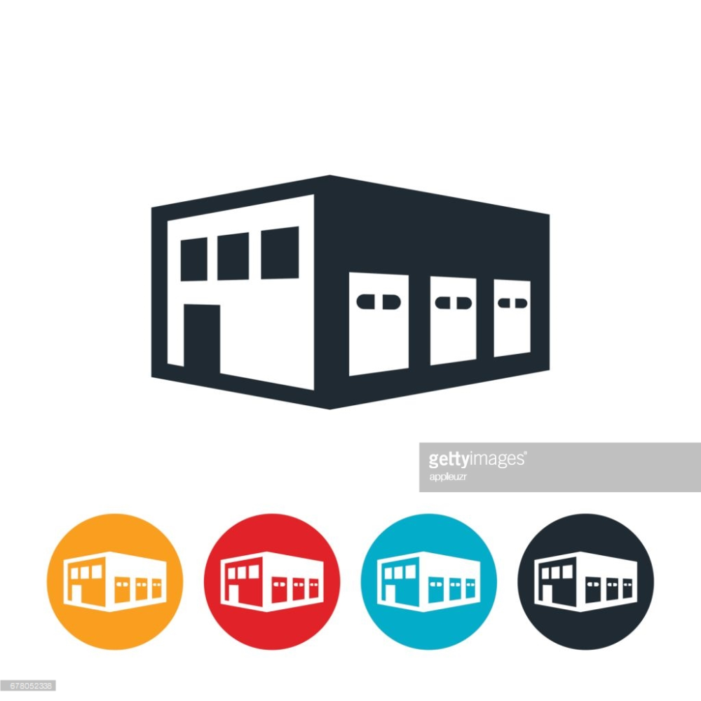 Warehouse Icon Vector 398244 Free Icons Library Free Icons Building Icon Icon