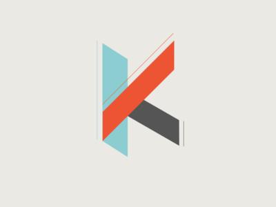 Geometric K Logo Concept Geometric Logo K Logos Logos Design