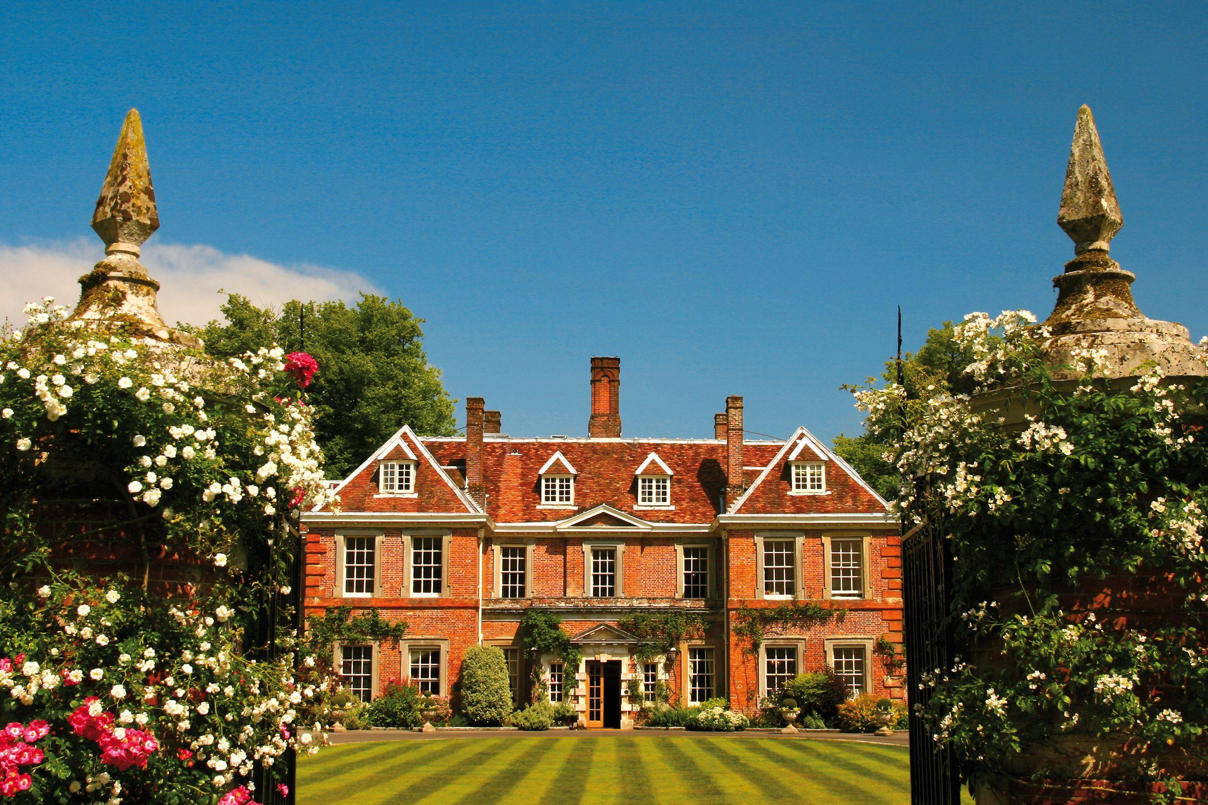 Hampshire Wedding Venue Lainston House Near Winchester