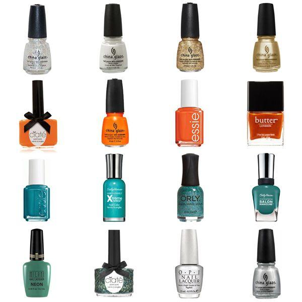 Orange Nail Polish Combinations