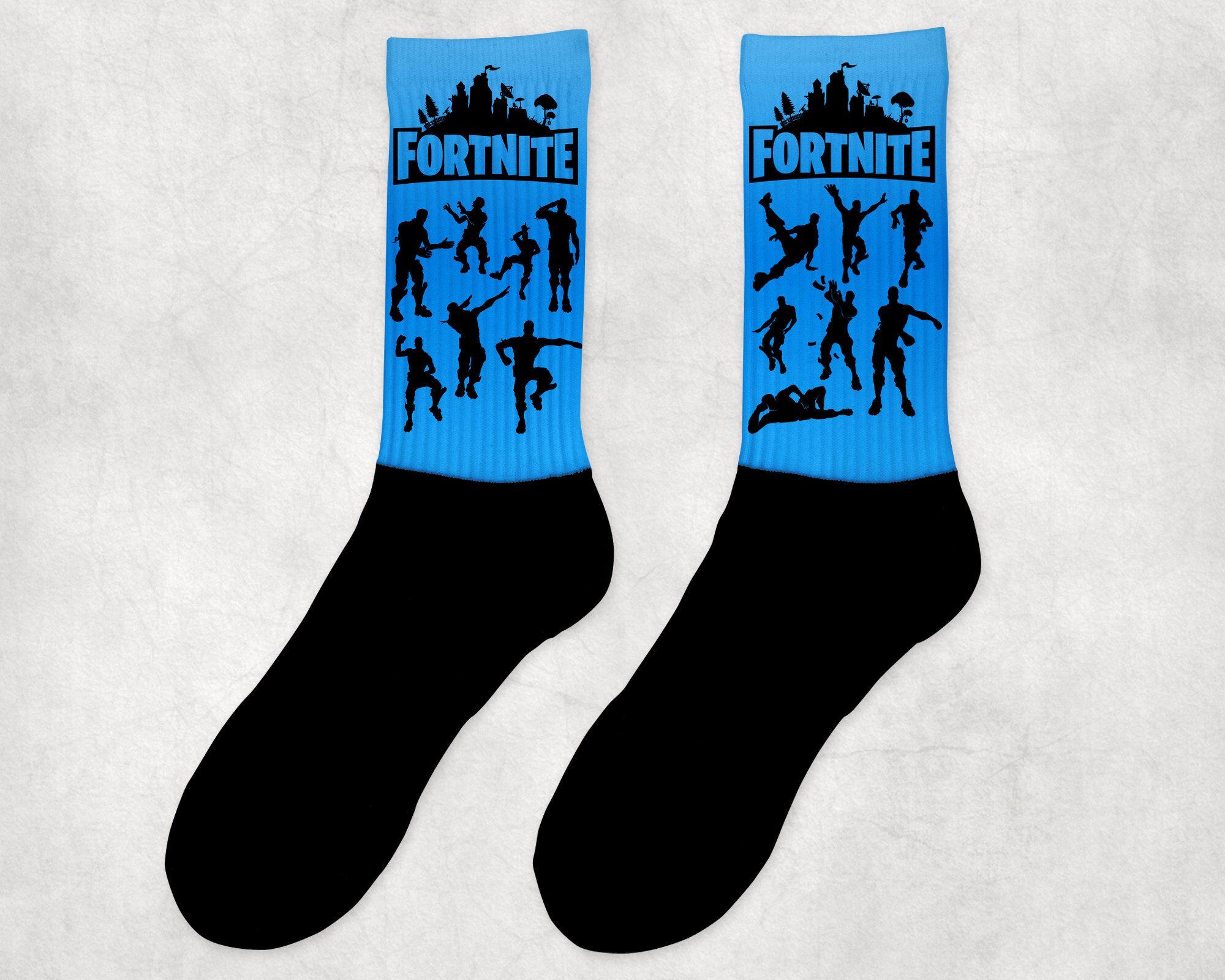 Fortnite Socks By Levelchange On Etsy Https Www Etsy Com Listing 612817729 Fortnite Socks Socks Fortnite Comfortable Socks