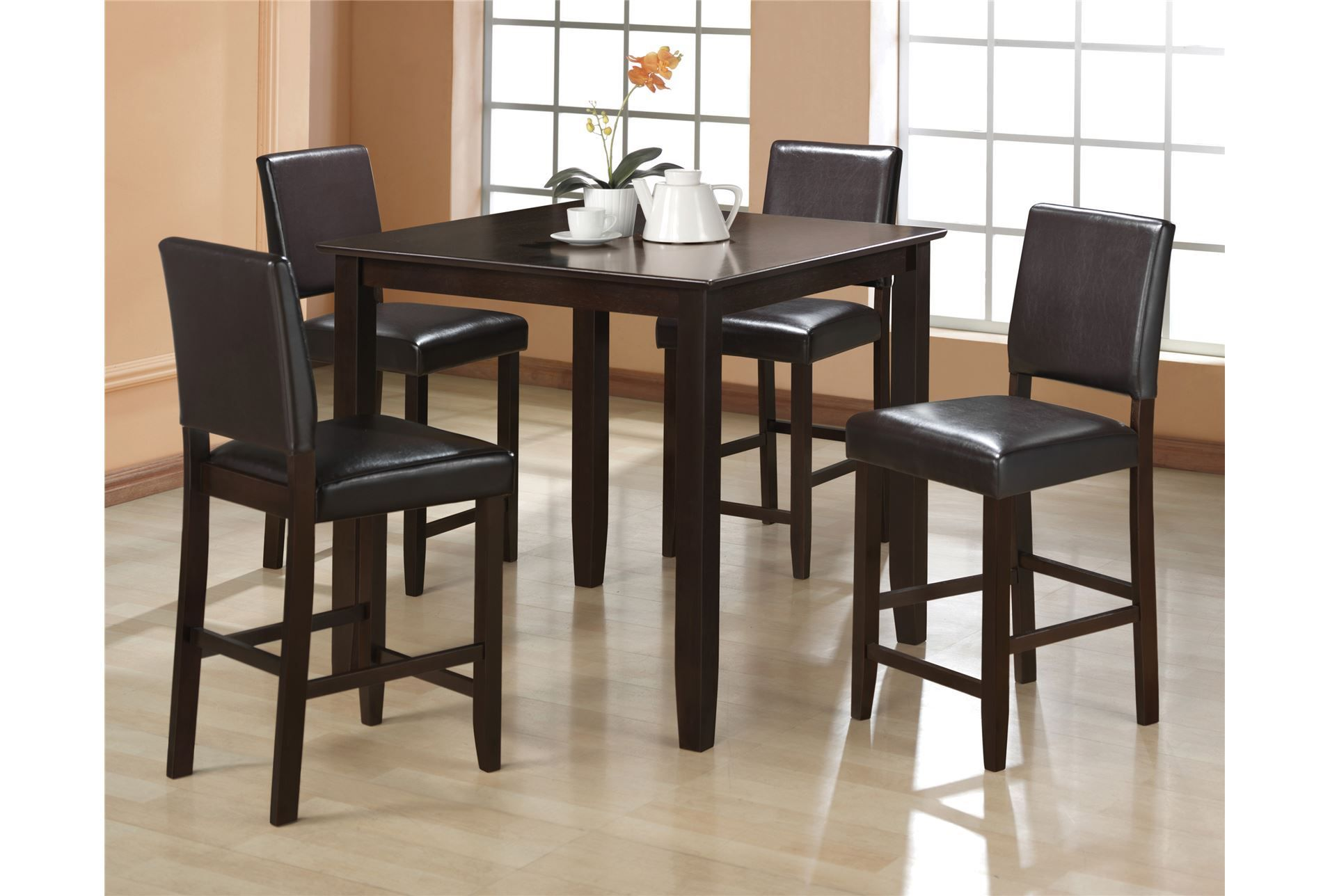 Derick 5 Piece Counter Set Dining Room Furniture Sets Counter