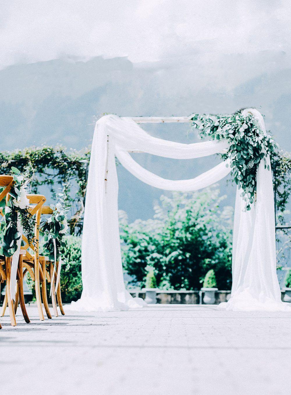 Wedding Grandhotel Giessbach Organic Wedding Eucalyptus Peonies