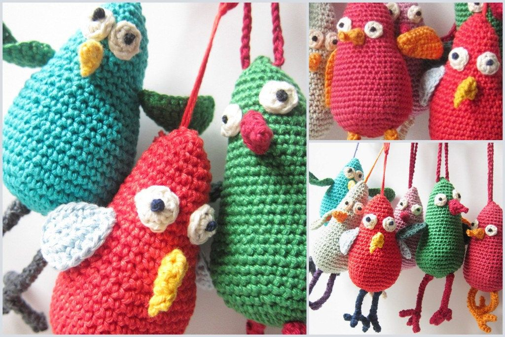 Lovebirds – Free Crochet Amigurumi Pattern | 683x1024