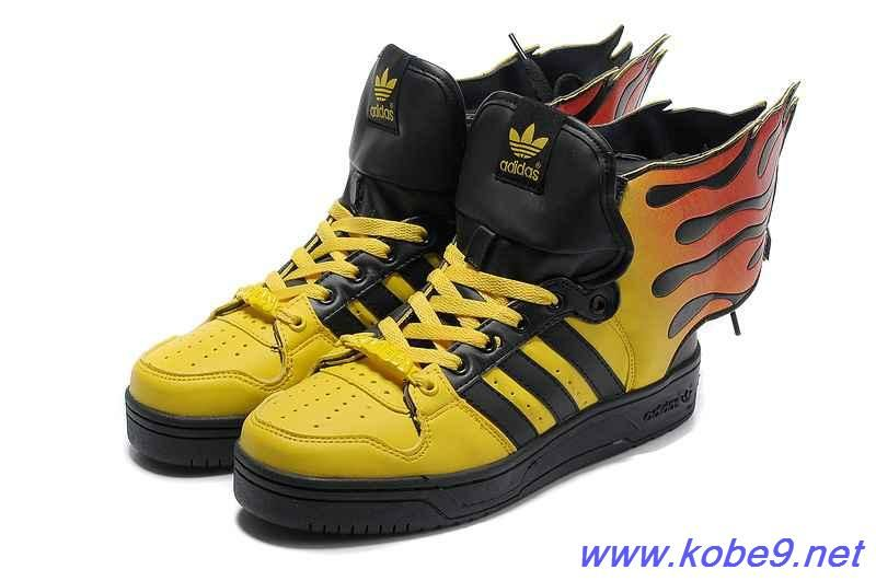 Authentic Adidas X Jeremy Scott Wings 2.0 Shoes Flame For