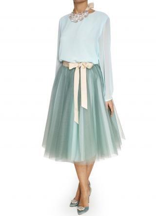 4ffe5e1f5 falda de tul en color verde agua Bgo & me   SOLO PARA BODAS ...