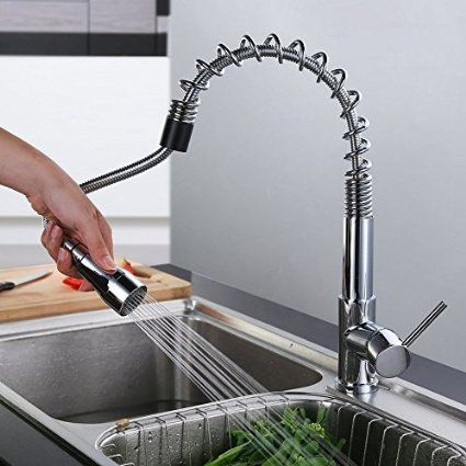 Luxus Küchenarmatur\/Spültischarmatur mit ausziehbarer Brause - armatur küche ausziehbar