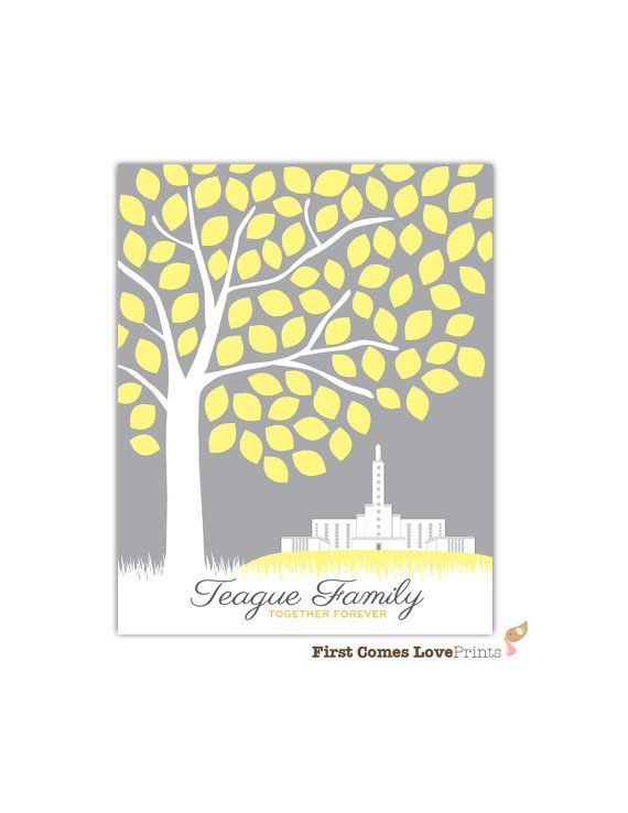 LDS Los Angeles Temple Art Print or Canvas Wedding or Anniversary ...